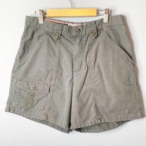 🍍Columbia Gray High Waist Shorts